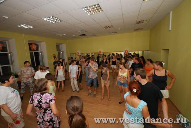 """Открытый урок танцев в ТЦ """"Третьяковка"""""""
